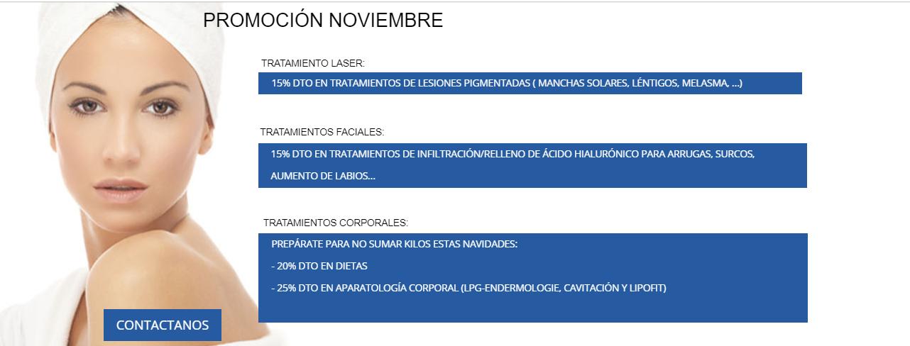 promoción noviembre
