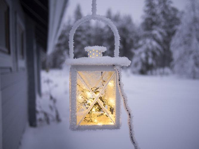 El invierno, la época con menos luz del año